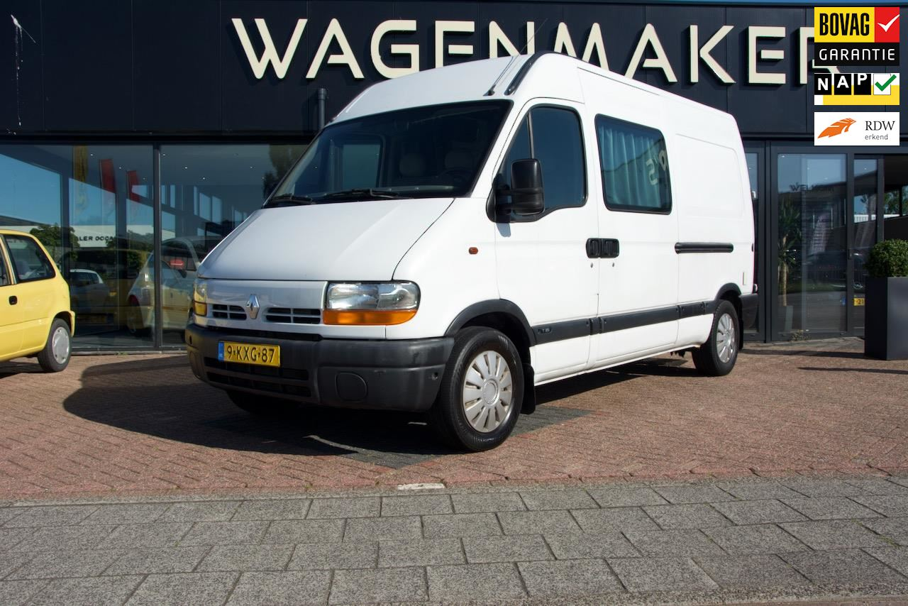 Renault MASTER 3.5T L2 H2 2.2 DCI occasion - Wagenmaker Auto's