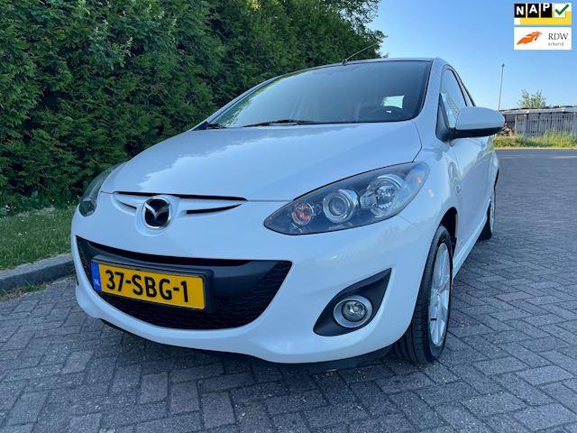 Mazda 2 1.3 BIFUEL GT-M Line,Bj 2011,LPG G3,Onderbouw,2e Eigenaar,Parrot,Clima,Stoelverwarming,Lichtmetalen velgen,Nieuwe Apk