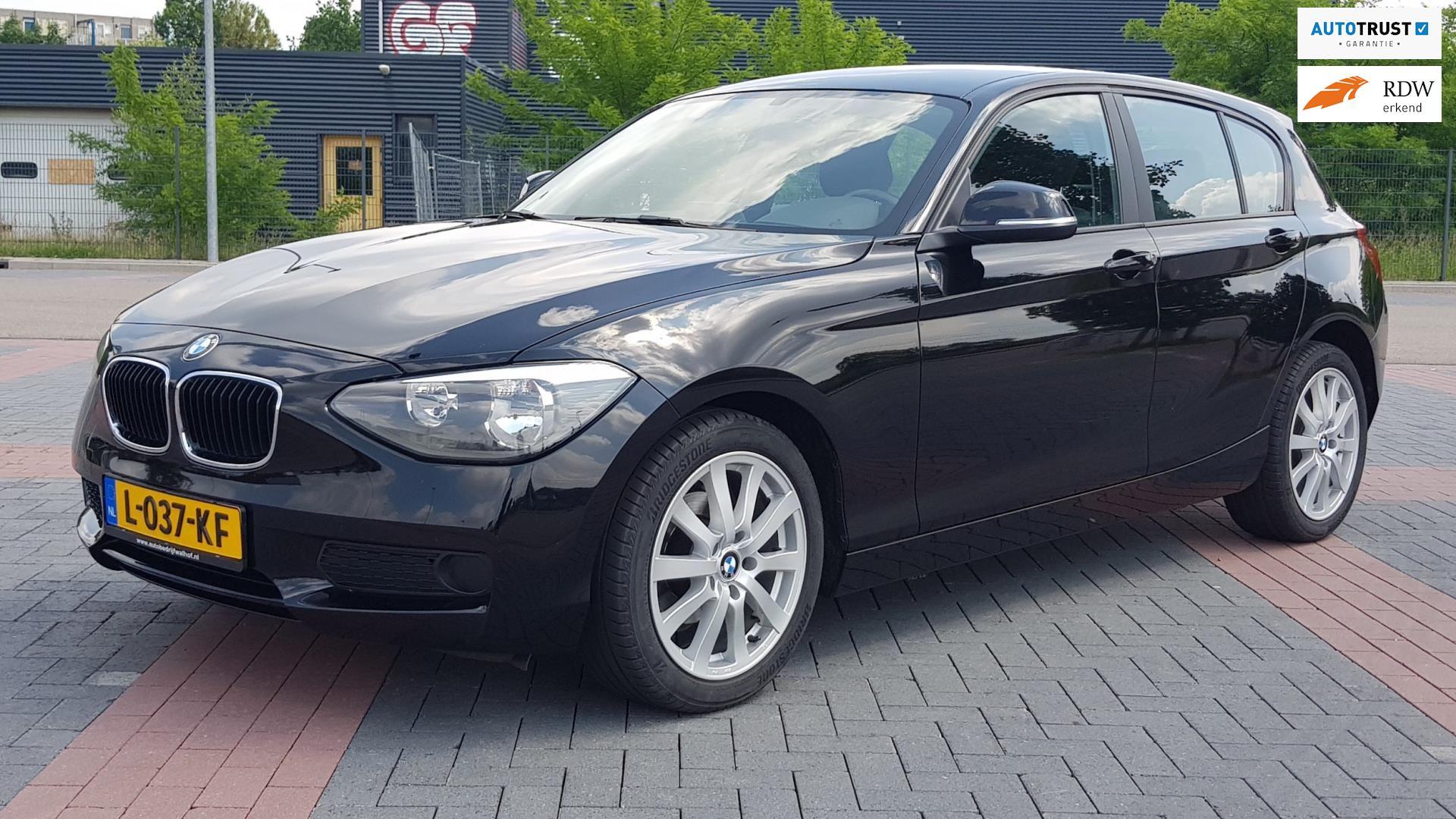 BMW 1-serie occasion - Autobedrijf R. Walhof