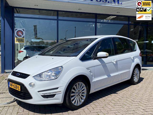 Ford S-Max 2.0 EcoBoost Titanium 7Pers Aut Navi Parksens NL-Auto NAP Dealer onderhouden!