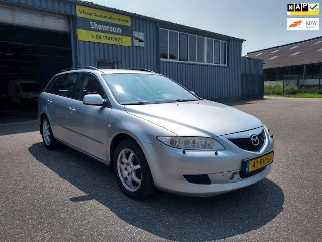 Mazda 6 Sportbreak 2.0 CiTD Executive Airco/Trekhaak/Cruise control ! Rijdt en schakelt goed ! APK tot 10-2021 ! Export mogelijk !