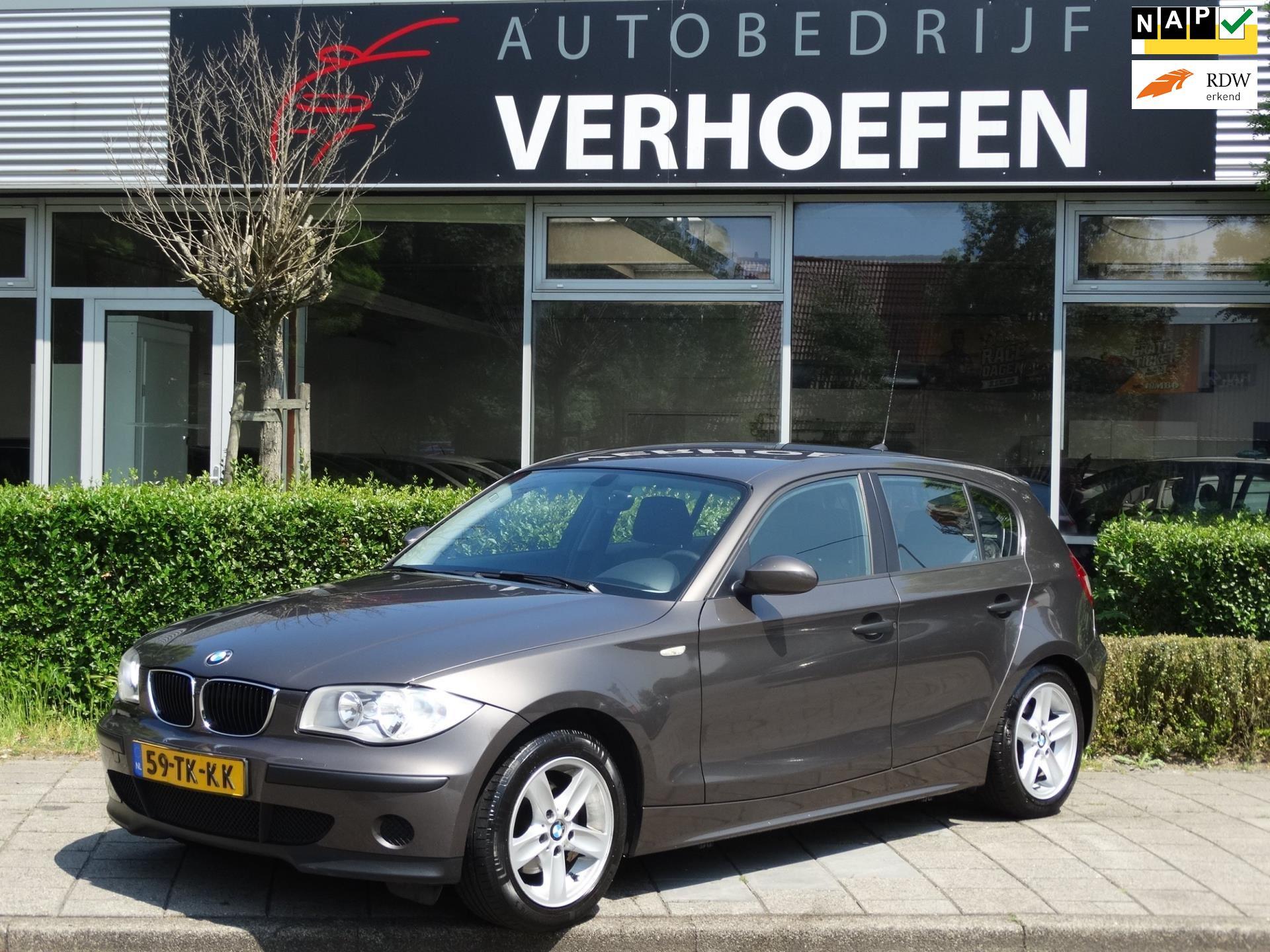 BMW 1-serie occasion - Autobedrijf Verhoefen