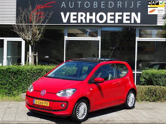 Volkswagen Up! 1.0 high up! - PANORAMA - AIRCO - STOELVERW - LEDER STUURWIEL - GARANTIE !!