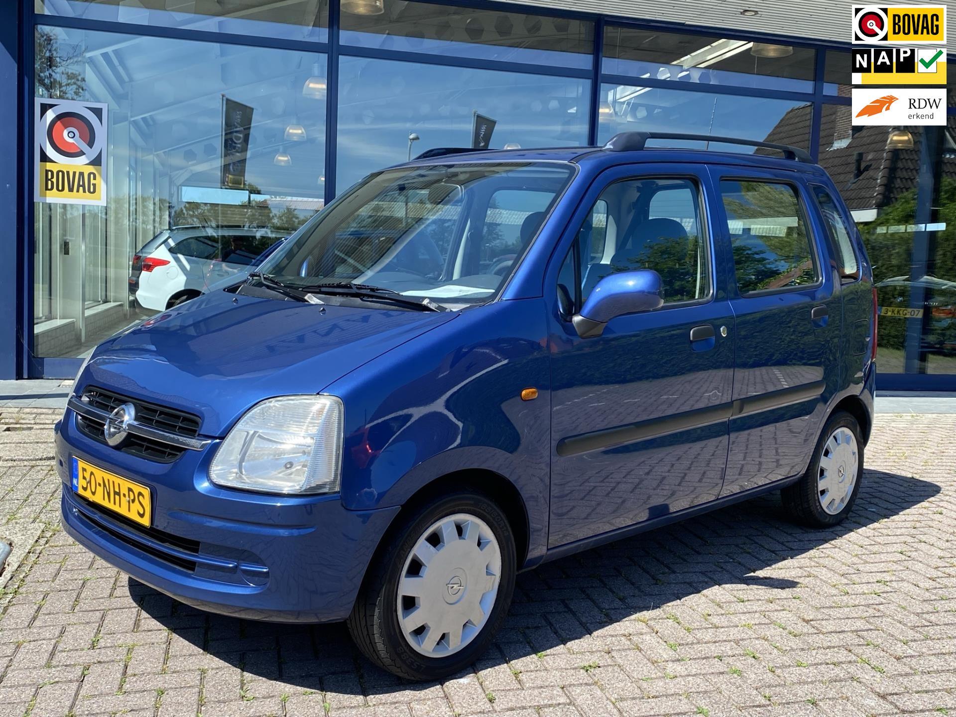 Opel Agila occasion - Van Adel Auto's