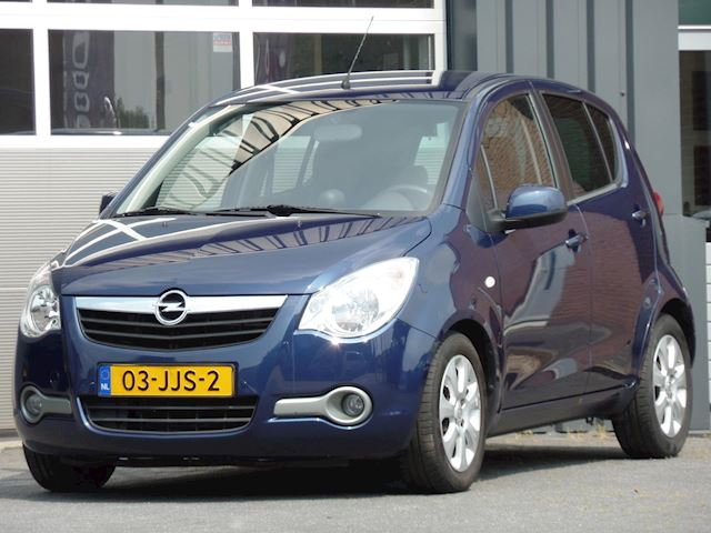 Opel Agila 1.2 Enjoy Airconditioning, Automaat, 77.000 KM, NL Auto, Trekhaak Apk 04/2022