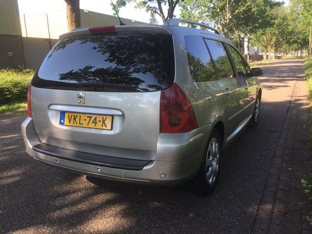 Peugeot 307 SW 2.0 Navtech GRIJSKENTEKEN benzine automaat commercial
