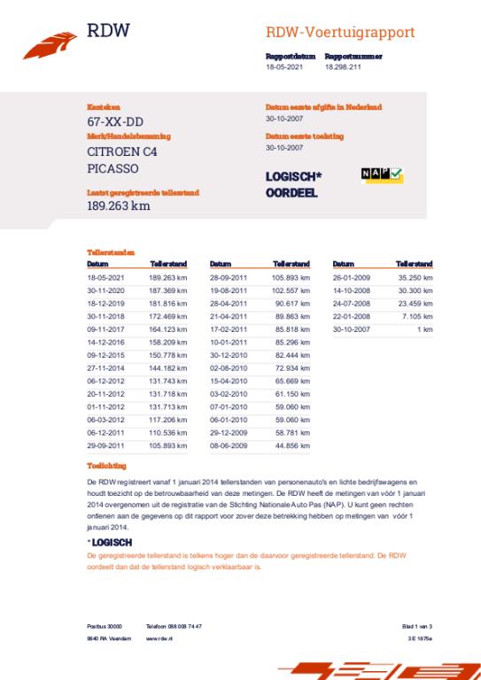 Citroen Grand C4 Picasso occasion - Autobedrijf T. van Noort