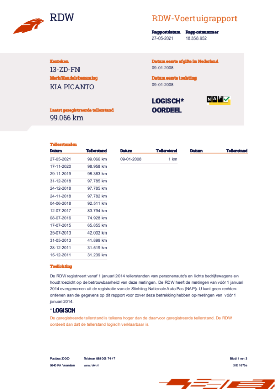 Kia Picanto occasion - Brinkmann Auto's