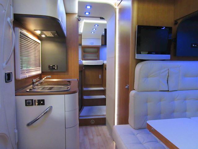 Arca H699 Integraal Enkele Bedden + Hefbed 20340Km type 2010