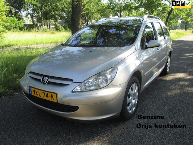 Peugeot 307 SW 2.0 Navtech, grijskenteken benzine, automaat, commercial