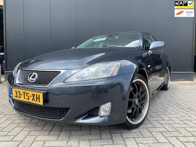 Lexus IS 250 V6 '07 208PK Automaat/18'Lmv/Clima/OrgNl/Nap!!
