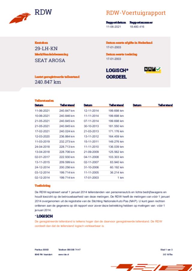 Seat Arosa 1.4 44KW 2003 Zwart NAP*APK 2022*SCHUIFDAK