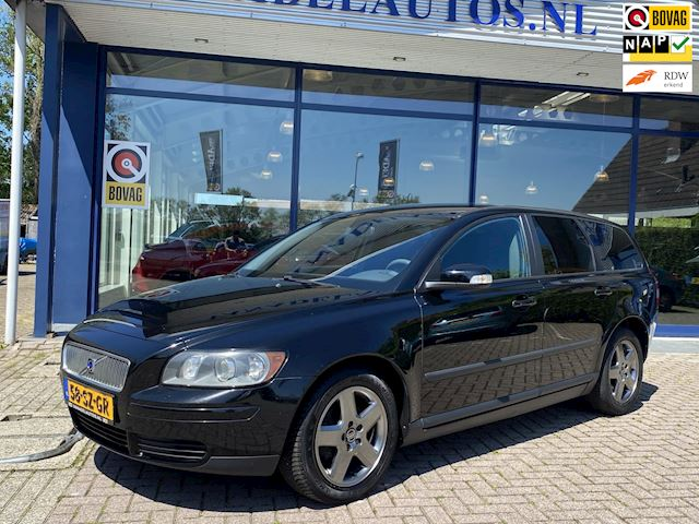 Volvo V50 1.6D Airco Cruise Trekhaak NL-Auto NAP Nwe APK!