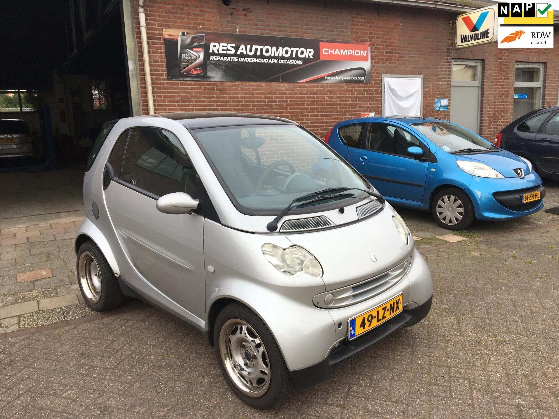Smart City-coupé occasion - RESAUTOMOTOR
