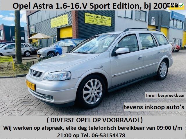 Opel Astra Wagon occasion - Auto Hilhorst