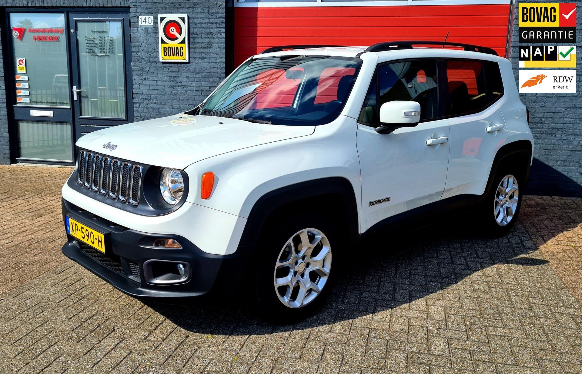 Jeep Renegade occasion - Automobielbedrijf Vriesde
