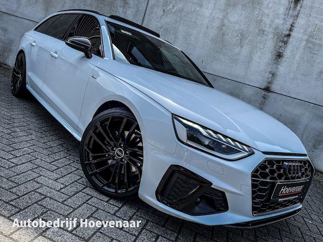 Audi A4 Avant 35 TFSI 3X S-LINE PANO VIRTUAL BLACK OPTIC 20INCH PARELMOER WIT