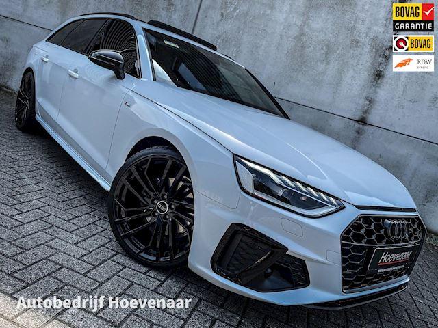 Audi A4 Avant 35 TFSI 3X S-LINE PANO VIRTUAL MATRIX BLACK OPTIC 20INCH PARELMOER WIT