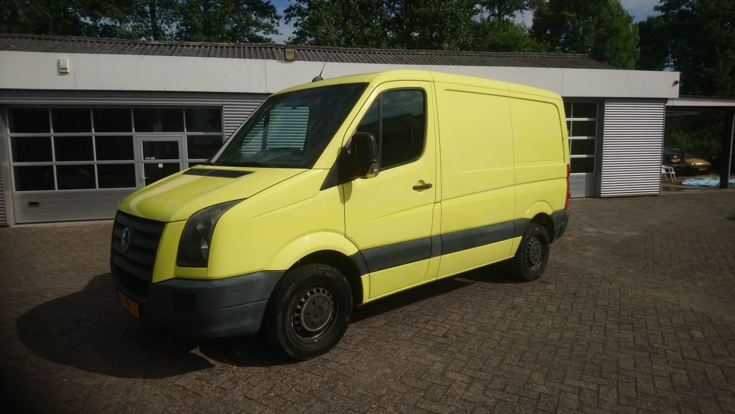 Volkswagen Crafter occasion - Hoeve Auto's