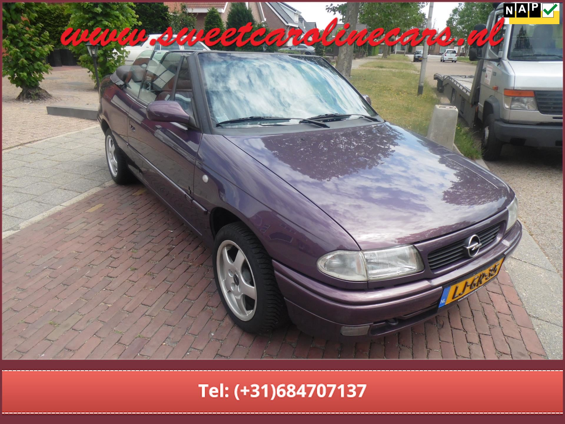 Opel Astra Cabriolet occasion - Sweet Caroline Cars