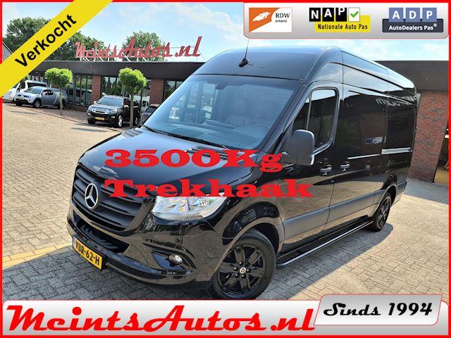 Mercedes-Benz Sprinter 319 519 3.0 CDI L2H2 EURO VI-D M-BUX 10.25 LEDER 2x SCHUIFDEUR TR.H. 3500Kg 17