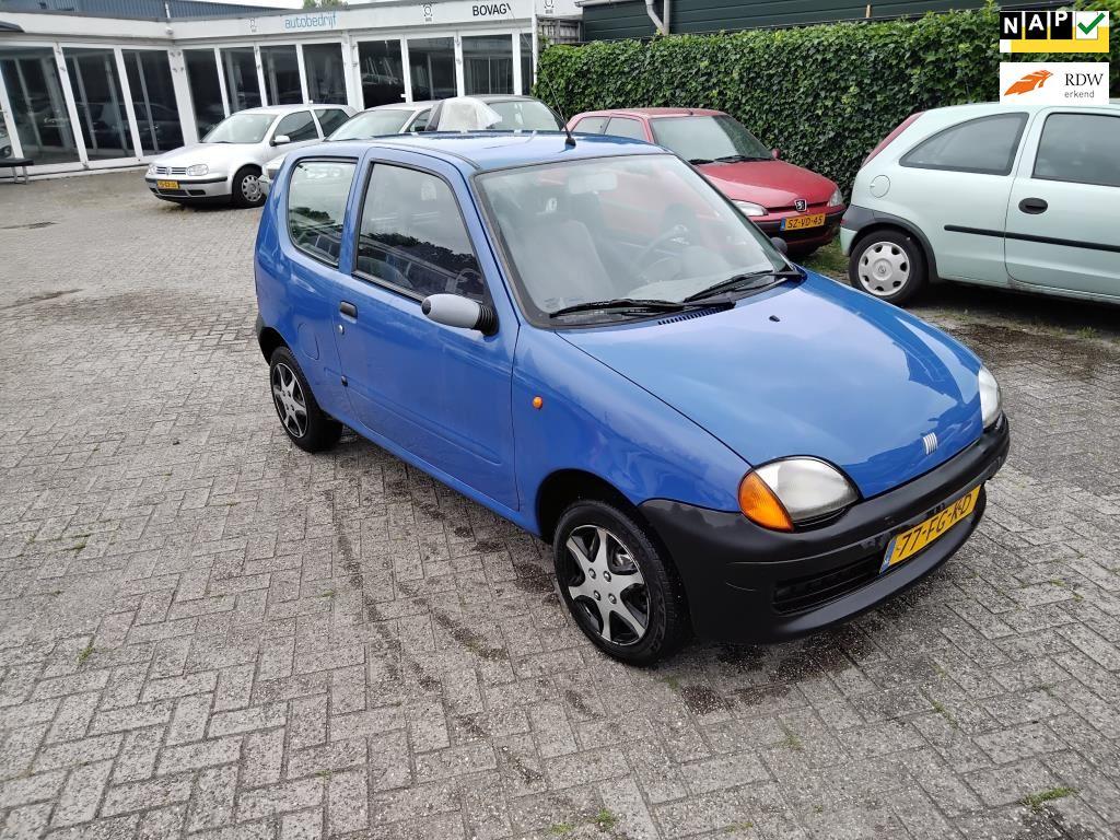 Fiat Seicento occasion - Autobedrijf Pascal