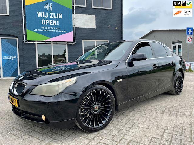 BMW 5-serie 520i Executive LEER/APK 2-2022/VELGEN/NAP/AUTOMAAT