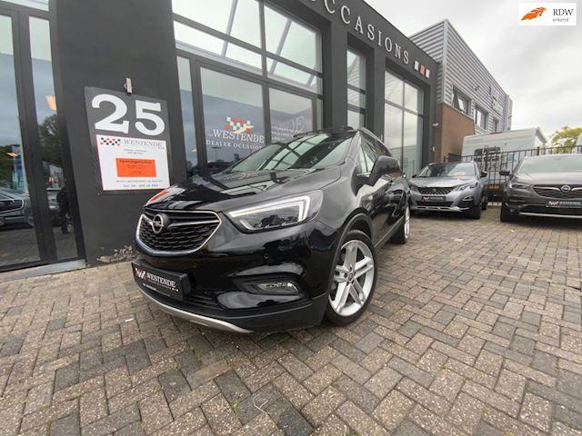 Opel Mokka X 1.4 Turbo Innovation AUTOMAAT NAVIGATIE PARKEERCAMERA PARKEERSENSOREN BKL LEDER PANORAMADAK 3/12M GARANTIE