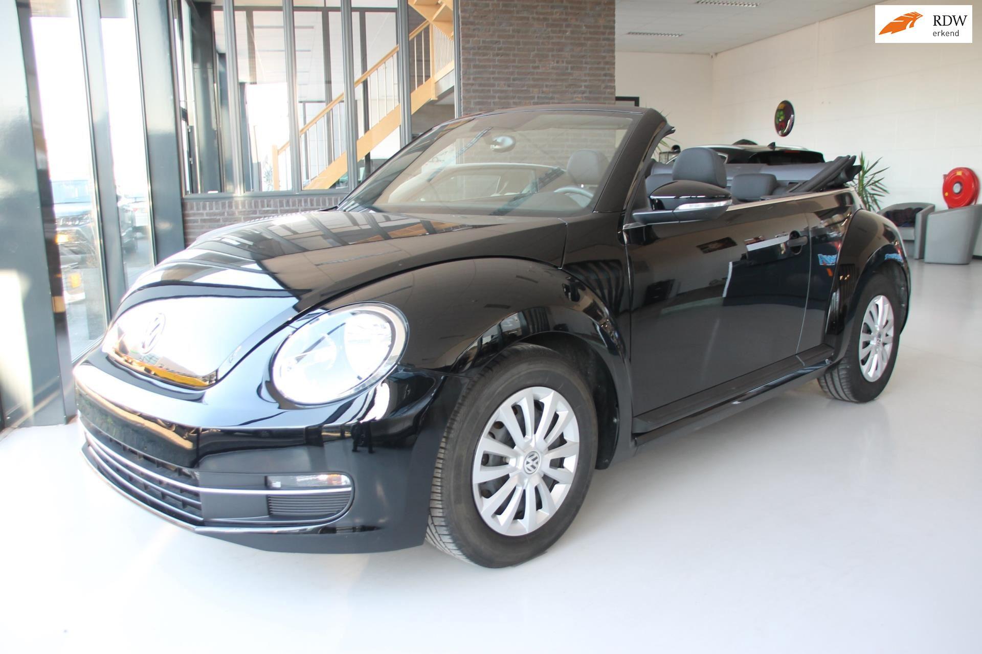 Volkswagen Beetle Cabriolet occasion - Van Zoggel Automotive
