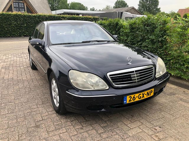Mercedes-Benz S-klasse 500 airco / leder / apk 17-06-2022