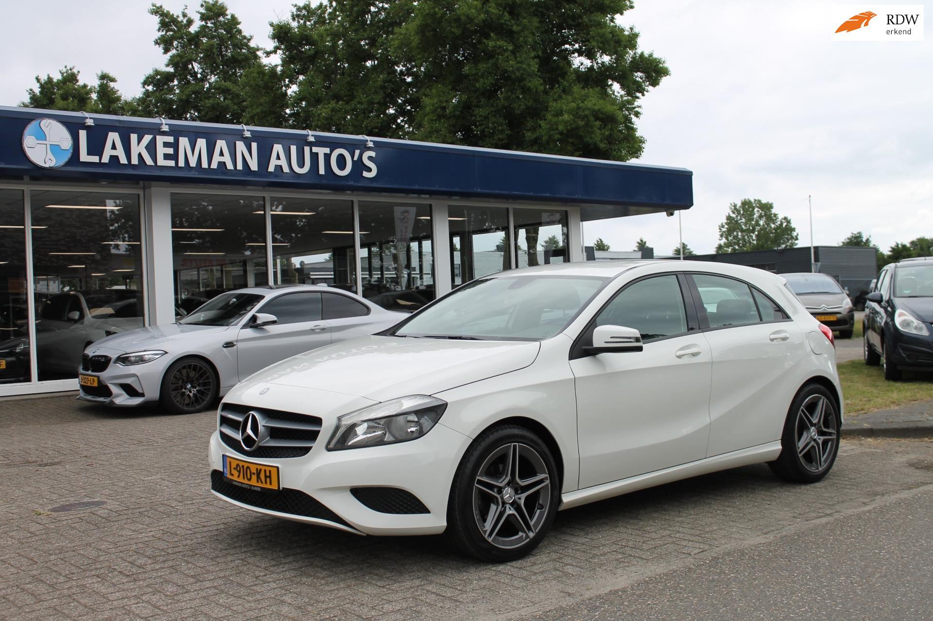 Mercedes-Benz A-klasse occasion - Lakeman auto's Almere B.V.