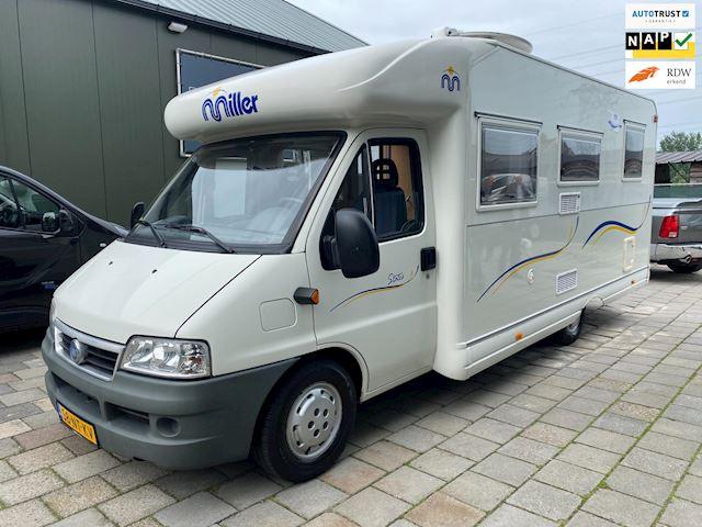 Mobilvetta MILLER Fiat camper 2.8 TDI 97dkm Topstaat
