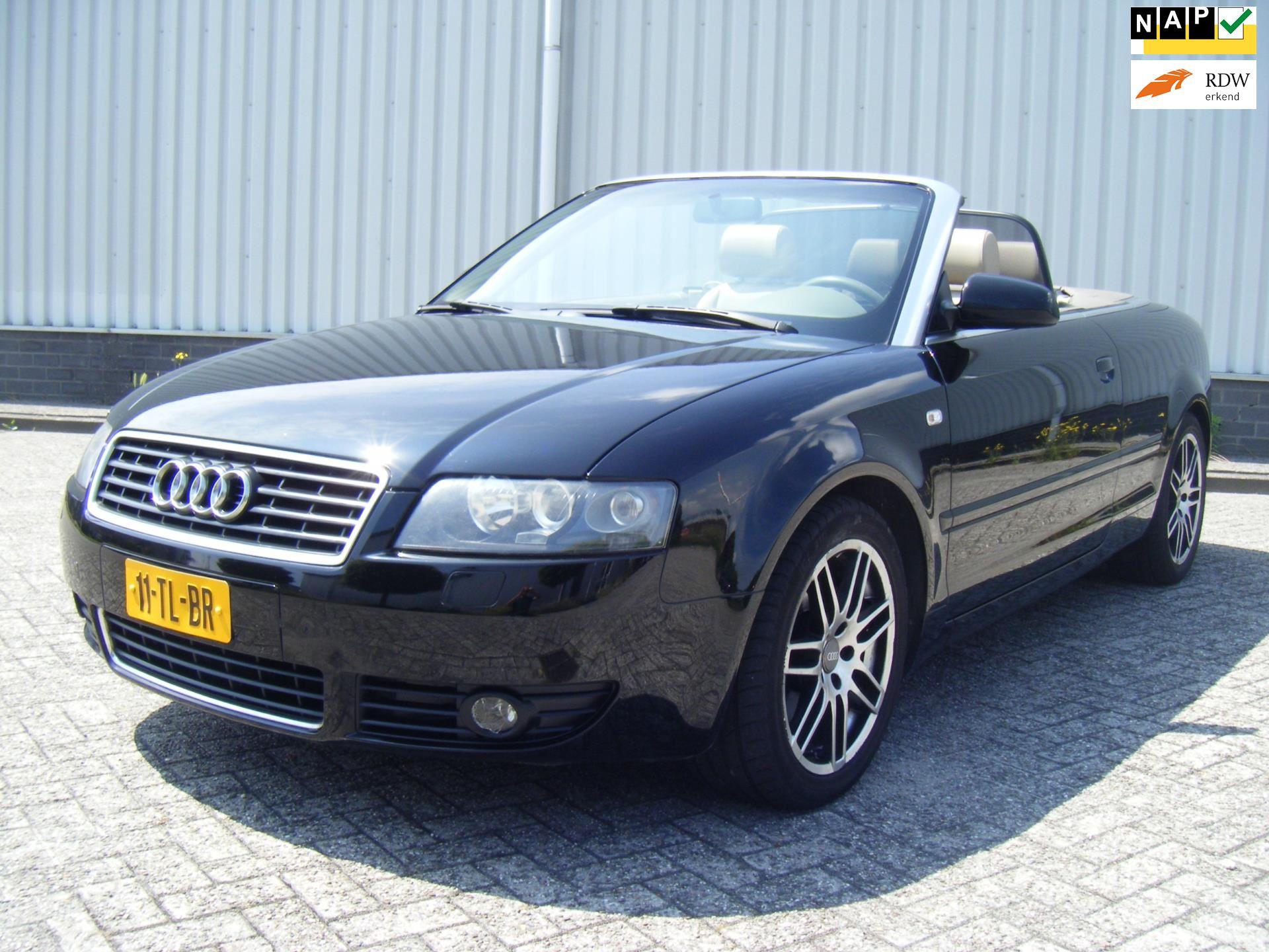 Audi A4 Cabriolet occasion - Horstman AutoGroothandel