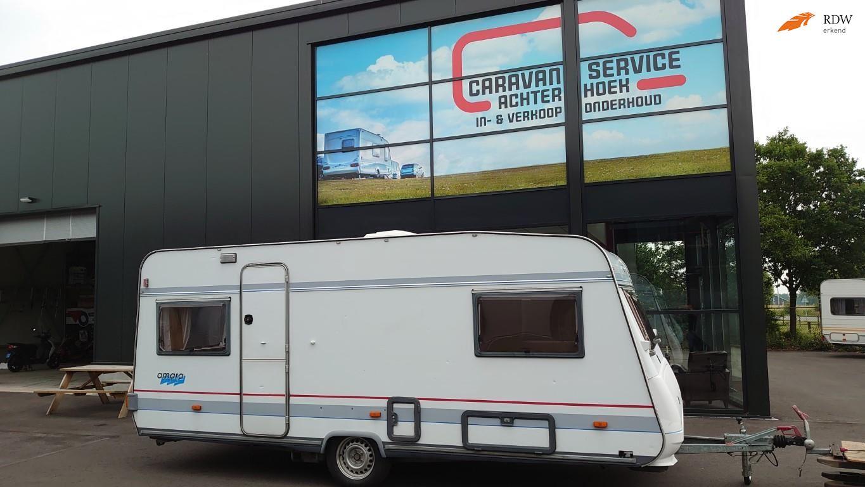 Buerstner 492 Amara Enkele bedden  voortent  Bovag 2021 occasion - Caravan Service Achterhoek