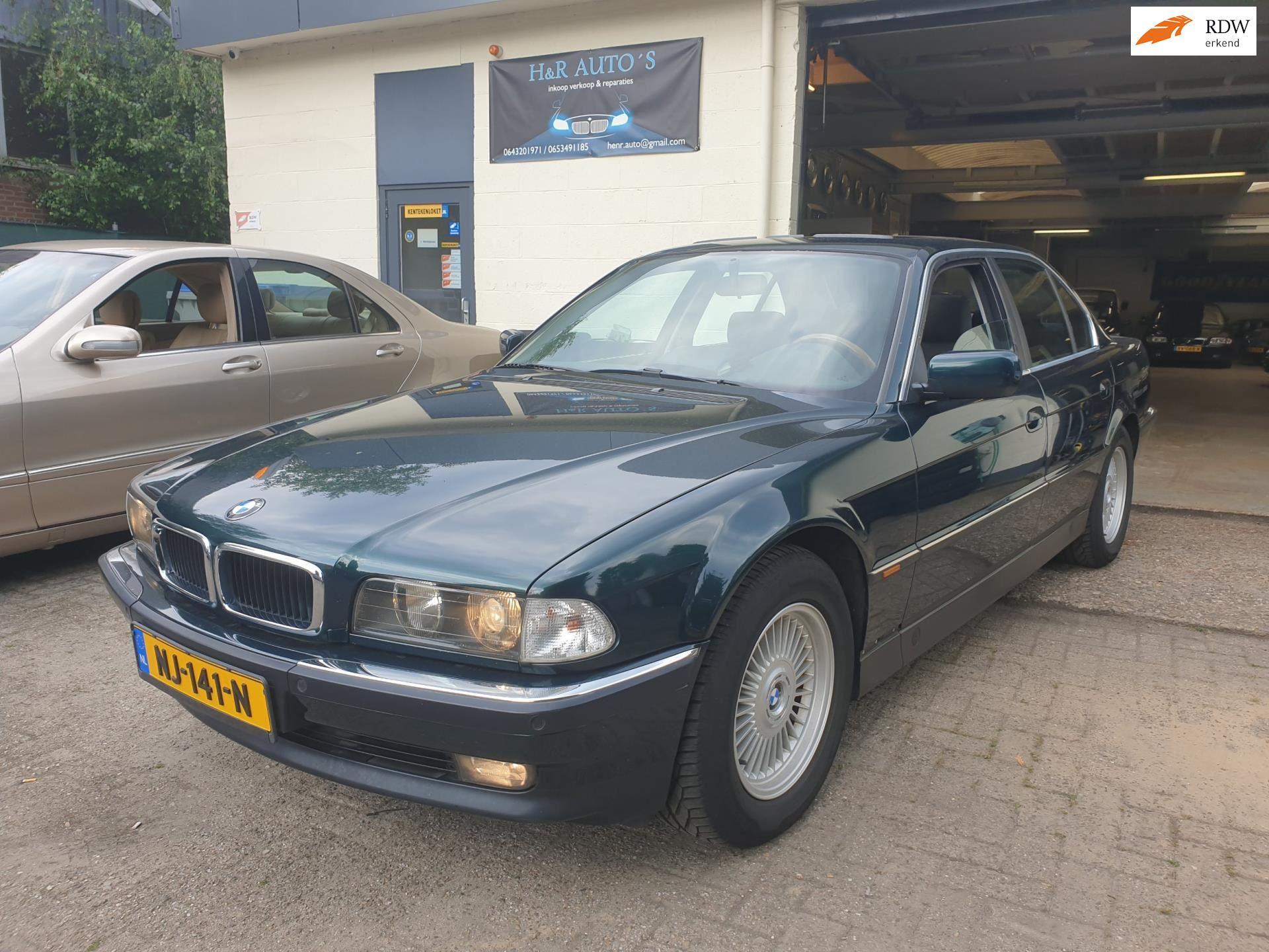 BMW 7-serie occasion - H&R Auto's
