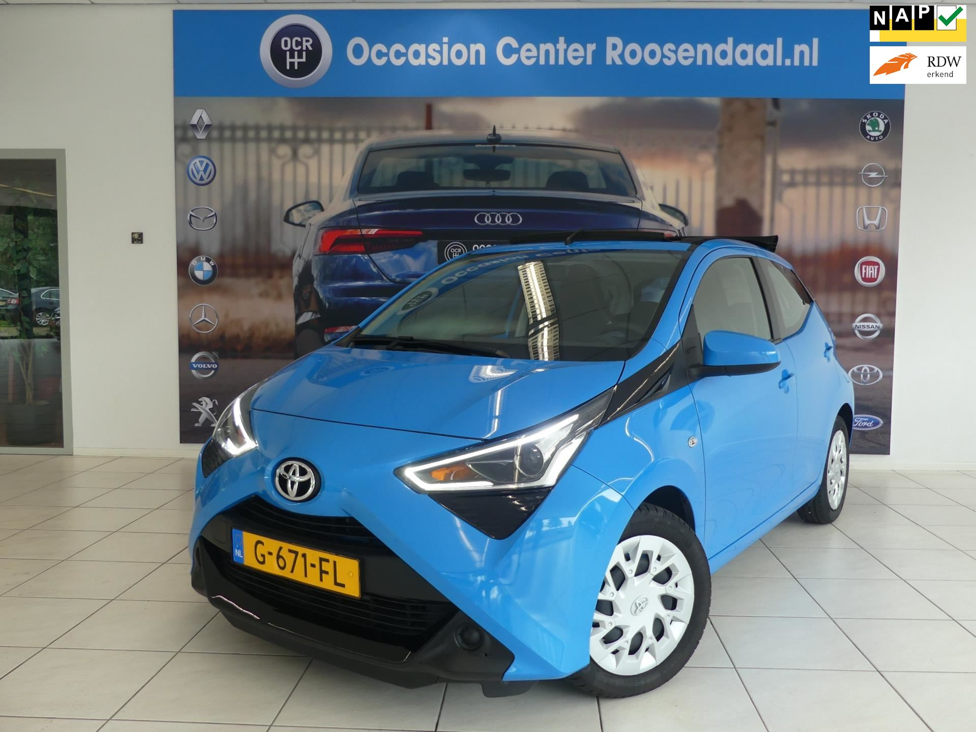 Toyota Aygo occasion - Occasion Center Roosendaal