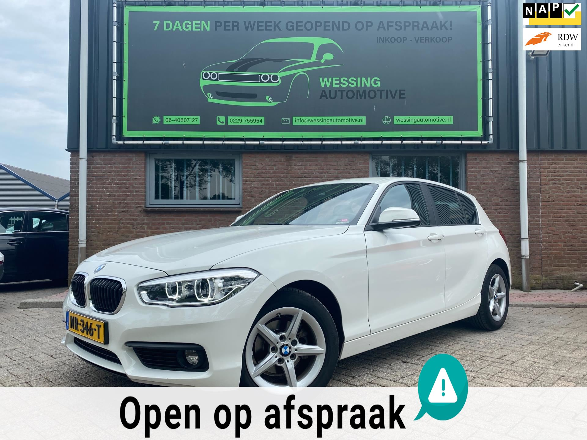 BMW 1-serie occasion - Wessing Automotive