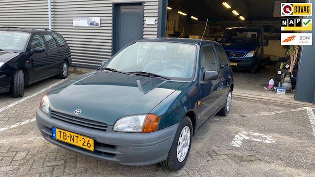 Toyota Starlet 1.3-16V Black stuurbekrachtiging airbag radio 135 dzkm nap apk 15-03-2022