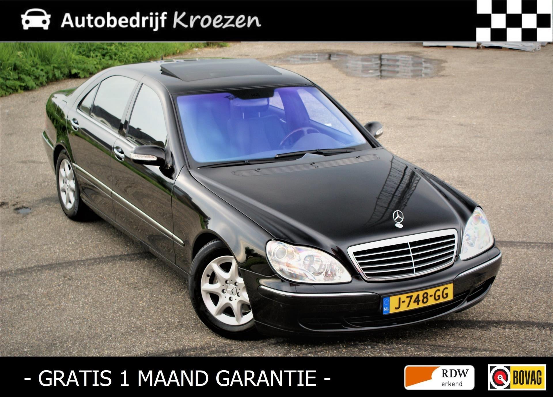 Mercedes-Benz S-klasse occasion - Autobedrijf Kroezen