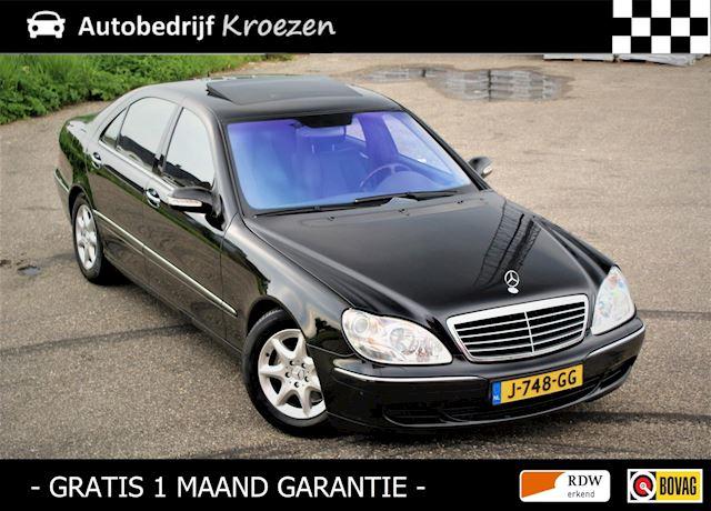 Mercedes-Benz S-klasse 500 Lang * Facelift Model * Zeer Nette staat *