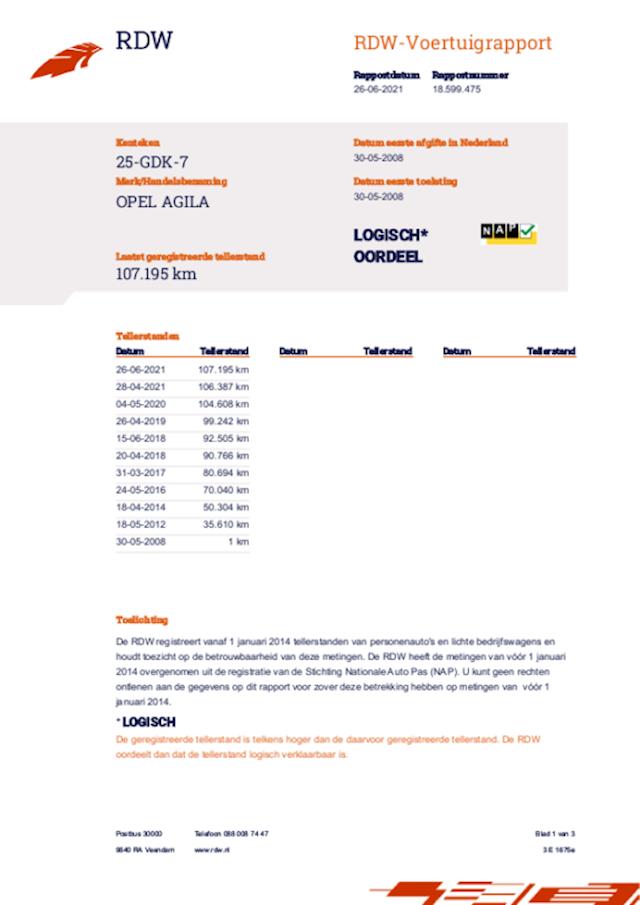 Opel Agila 1.2 Enjoy met Airco 1e Eigenaar
