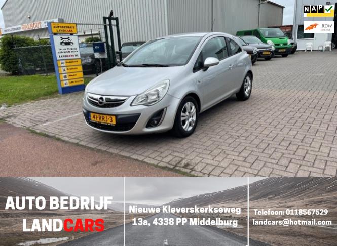 Opel Corsa occasion - Land Cars Middelburg