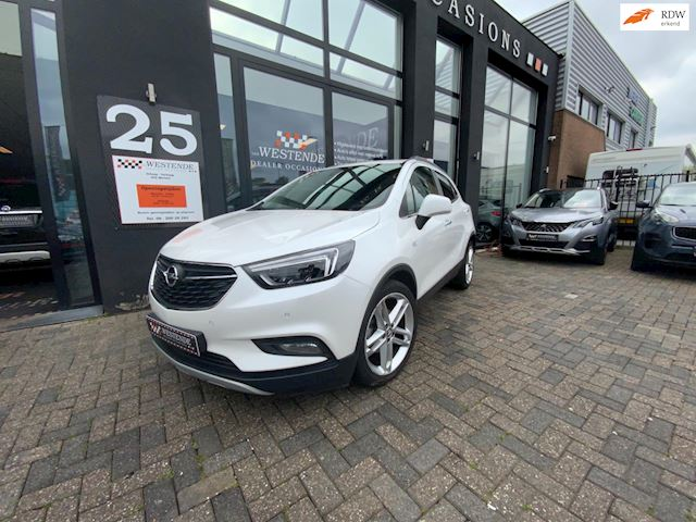 Opel Mokka X 1.4 Turbo Innovation AUTOMAAT NAVI ACHTERUITRIJCAMERA LEDER PARKEERSENSOREN CRUISE CLIMATE SCHUIFDAK  3/12M GARANTIE