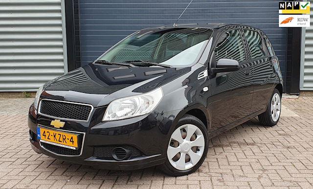 Chevrolet Aveo 1.2 16V 5D 2010 Zwart AIRCO*NAP*APK 2022*2E EIG