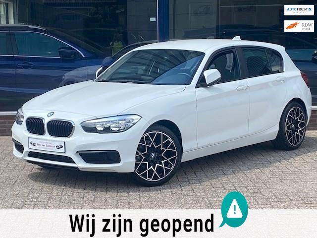 BMW 1-serie 118i Corporate Lease 136PK Automaat 5 deurs! 18'M LM velgen/Airco/LED/PDC/MTF-stuur/Stoelverwarming! 1e eigenaar!