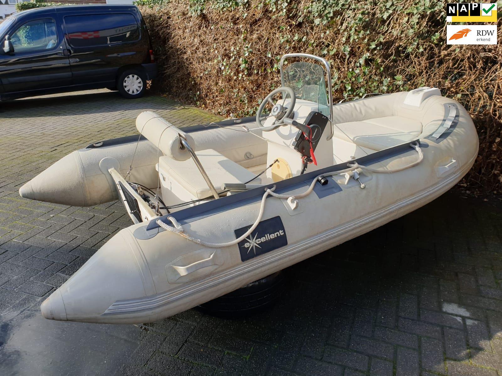 Exelent Rubberboot Exelent met nieuwe 5PK Suzuki buitenboordmotor occasion - Autobedrijf van Gaal