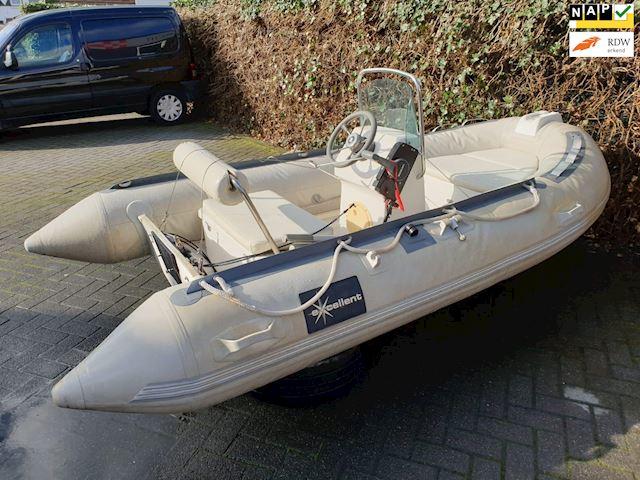 Exelent Rubberboot Exelent met nieuwe 5PK Suzuki buitenboordmotor