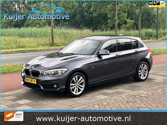 BMW 1-serie 116d Corporate Lease Sport Executive Automaat