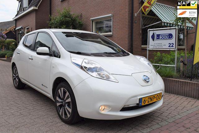 Nissan LEAF Tekna 24 kWh/AIRCO-ECC/NAVI/360-CAMERA/CRUISE/LEDER/17 INCH/VOLLEDIG ELEKTRISCH!