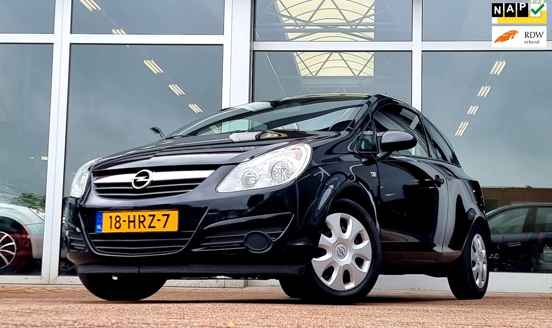Opel Corsa occasion - van den Boog Automotive